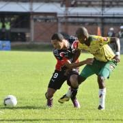 Tommy Tobar marcó uno de los goles de Cúcuta en su triunfo 3-2 sobre Real Cartagena. (Colprensa-Juan Pablo Bayona-La Opinión).