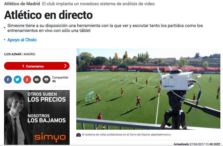 Diario MARCA - ADESTRapp Atletico de Madrid
